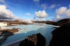 błękitny laguna Fotografia Stock