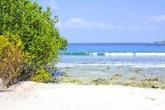 błękitny laguna Obrazy Royalty Free