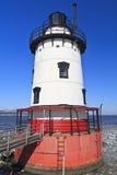 błękitny latarni morskiej czerwony biel Obraz Royalty Free