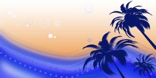 Błękitny lato sok ilustracji