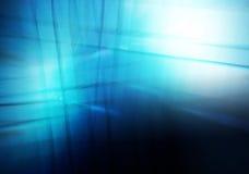 Błękitny Lekkiej fala abstrakta tło Zdjęcia Stock