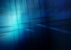 Błękitny Lekkiej fala abstrakta tło Zdjęcie Royalty Free