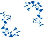 Błękitny liść Zdjęcia Stock