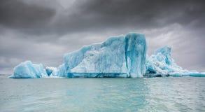 błękitny lodowa lodu Iceland j kuls laguny n rl Zdjęcie Stock
