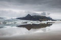 błękitny lodowa lodu Iceland j kuls laguny n rl Obrazy Stock