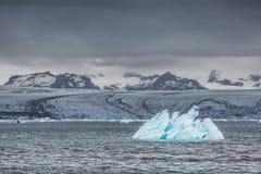 błękitny lodowa lodu Iceland j kuls laguny n rl Obrazy Royalty Free