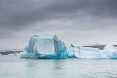 błękitny lodowa lodu Iceland j kuls laguny n rl Obraz Royalty Free