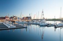 Błękitny Marina Obraz Royalty Free