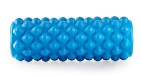 Błękitny masaż piany rolownik Fotografia Stock