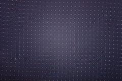 Błękitny materiał w Żółtych kropkach Fotografia Royalty Free