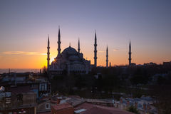 Błękitny meczet, Ä°stanbul Obraz Royalty Free
