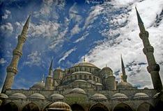 błękitny meczet Zdjęcia Royalty Free