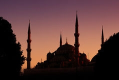 błękitny meczet Obrazy Stock