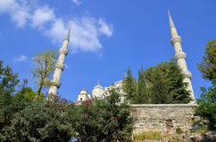 (Błękitny meczet Zdjęcie Royalty Free