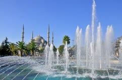 (Błękitny meczet Obrazy Royalty Free