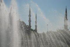 Błękitny meczet, Istanbuł, Turcja (sułtan Ahmet Cami) Zdjęcie Stock