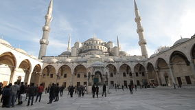 Błękitny meczet lub sułtanu Ahmet meczet zbiory wideo