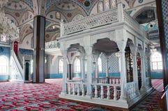 Błękitny meczet w Manavgat, Turcja Zdjęcia Royalty Free