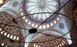 błękitny meczetowy indyk Zdjęcia Royalty Free