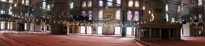 błękitny meczetowy indyk Obrazy Royalty Free