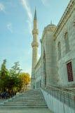 Błękitny meczetowy Istanbuł Fotografia Royalty Free