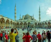 Błękitny meczetowy Istanbuł Obraz Stock