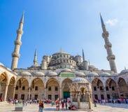 Błękitny meczetowy Istanbuł Zdjęcia Stock