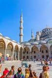 Błękitny meczetowy Istanbuł Obraz Royalty Free