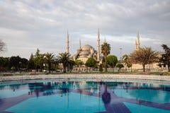błękitny meczetowy sultanahmet Obrazy Stock