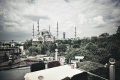 błękitny meczetowy sultanahmet Obraz Royalty Free