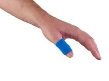Błękitny Medyczny opakunek zdjęcie stock