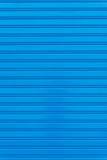 Błękitny metal żaluzi drzwi zdjęcia royalty free