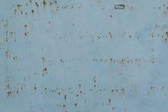 Błękitny metal powierzchni tekstury backgound Zdjęcie Royalty Free