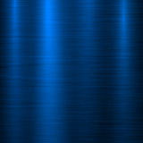 Błękitny metal technologii tło royalty ilustracja