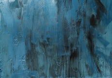 Błękitny metal, tekstura Fotografia Stock