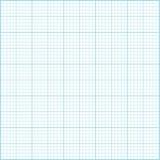 Błękitny milimetru papieru tło Zdjęcia Royalty Free