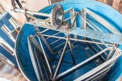 Błękitny Miodowy ekstraktor Obrazy Stock