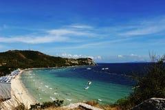 błękitny morze Zdjęcia Royalty Free
