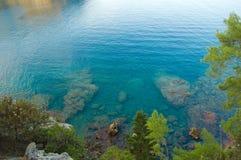 błękitny morze Obrazy Royalty Free