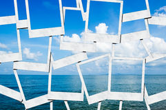 błękitny morze Zdjęcia Stock