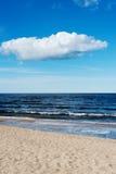 Błękitny morze bałtyckie Zdjęcie Royalty Free