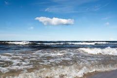Błękitny morze bałtyckie Fotografia Royalty Free