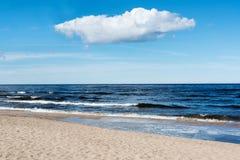 Błękitny morze bałtyckie Fotografia Stock