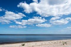 Błękitny morze bałtyckie Zdjęcia Stock