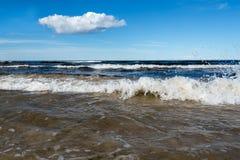 Błękitny morze bałtyckie Obraz Stock