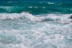Błękitny morze Cypr Obraz Stock