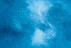 Błękitny muślinowy tło. Zdjęcia Stock