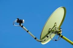 błękitny naczynia satelity niebo fotografia stock