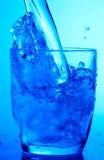błękitny napój Zdjęcie Stock