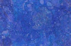Błękitny naturalny bezszwowy marmuru kamienia tekstury wzoru tło Szorstka naturalna kamienna bezszwowa marmurowa tekstury powierz zdjęcia royalty free